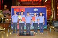 Chi bộ Đại diện Văn phòng Viện KSND tối cao tại TP Hồ Chí Minh kết nạp 2 đảng viên mới