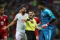 Costa ghi bàn may mắn, Tây Ban Nha nhọc nhằn hạ xe buýt Iran
