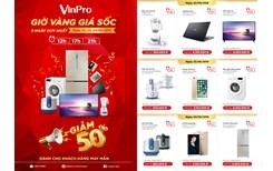Điện máy VinPro giảm sốc 50 cùng World Cup