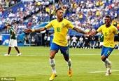 Neymar tỏa sáng, Brazil vững bước tiến vào vòng tứ kết