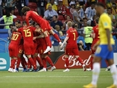 Bỉ loại Brazil, gặp Pháp ở bán kết World Cup