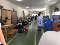 Thông tin mới nhất về vụ gần 100 công nhân nhập viện vì ngửi phải mùi lạ