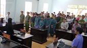 Xét xử sơ thẩm 7 bị cáo gây rối trật tự công cộng tại Bình Thuận