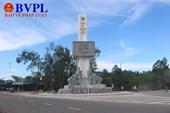 Hoàn thành Cột biểu tượng ngành GTVT tại Ngã Ba Đồng Lộc