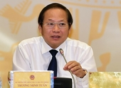 Thủ tướng Chính phủ quyết định kỷ luật cảnh cáo ông Trương Minh Tuấn