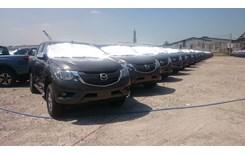 Lô xe nhập khẩu Mazda BT-50 mới đã về kho Thaco