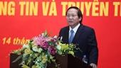 Bộ trưởng Bộ Thông tin và Truyền thông Trương Minh Tuấn bị tạm đình chỉ công tác