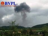Nghệ An Máy bay quân sự Su 22 rơi, 2 phi công hy sinh