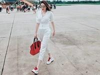 Kỳ Duyên và dàn sao Việt khoe street style ngập tràn hàng hiệu