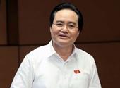 Bộ trưởng Phùng Xuân Nhạ  Trước các sai phạm xảy ra tại một số địa phương  tôi xin nhận trách nhiệm