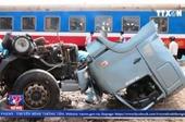 Tê liệt đường sắt Bắc - Nam do tai nạn tại Ninh Thuận
