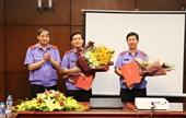 Bổ nhiệm lãnh đạo Viện Thực hành quyền công tố và kiểm sát xét xử các vụ án hình sự thuộc VKSND cấp cao tại Hà Nội