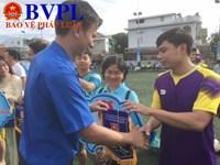 Liên quân TAND, VKSND, Cục THA tham gia giải bóng đá thanh niên khối các cơ quan tỉnh
