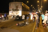 Nam thanh niên bị xe tải cán nát hai chân trên cầu Rạch Tra