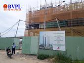 Chủ thầu xây dựng Trung tâm Thương mại Hòa Bình Green nợ hàng trăm triệu tiền lương công nhân