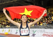 Đợi màn chào sân ASIAD 2018 của Nữ hoàng tốc độ Lê Tú Chinh