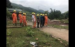 Công ty Lưới điện cao thế miền Bắc tích cực khẩn trương khắc phục sự cố để cấp điện sớm nhất, ổn định cho huyện Huở Phăn nước bạn Lào và các tỉnh Sơn La, Hòa Bình