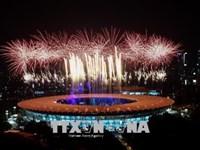 Lễ khai mạc ASIAD 2018 hoành tráng trong không khí lễ hội của Xứ Vạn đảo