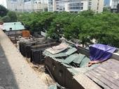 Dừng toàn bộ thi công công trình đứt cáp cẩu rơi tại Mễ Trì