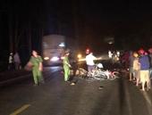 Hai xe máy đối đầu, khiến 2 người chết, 1 người bị thương nặng