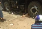 Bé gái học lớp 4 tử vong dưới gầm xe tải