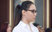 Hotgirl cầm đầu đường dây ma tuý ở Sài Gòn im lặng trước tòa