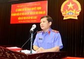Ông Lê Minh Trí làm Chủ tịch Hội đồng tuyển chọn Kiểm sát viên VKSND tối cao