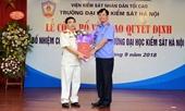 Bổ nhiệm Hiệu trưởng Trường Đại học Kiểm sát Hà Nội