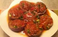 Cà tím nhồi thịt sốt cà chua lạ miệng cho bữa cơm ngày se lạnh