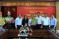 Đồng chí Lê Văn Lân giữ chức Phó Ban Nội chính Trung ương