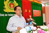 Kỷ luật cách chức Phó Bí thư Thành ủy Trà Vinh Diệp Văn Thạnh