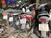 Truy tìm chủ sở hữu của nhiều xe môtô, xe máy