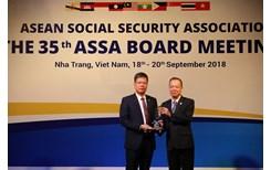 BHXH Việt Nam vinh dự nhận giải thưởng về Công nghệ thông tin tại Hội nghị ASSA