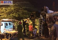Thanh niên ép xe CSGT rồi leo lên công ty địa ốc Alibaba nhảy lầu
