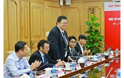 Agribank tiếp và làm việc với Tập đoàn Yanmar Nhật Bản