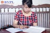 Nghị lực vượt lên hoàn cảnh của nữ sinh viên năm thứ nhất trường Đại học luật