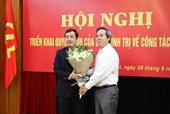 Tỉnh ủy Thái Bình có Phó Bí thư Thường trực mới