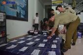 252 chai rượu ngoại không hóa đơn chứng từ bị bắt giữ