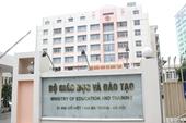 Thứ trưởng Bộ Giáo dục và Đào tạo nghỉ hưu từ ngày 1 10 2018