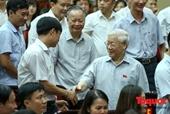 Cử tri ủng hộ Trung ương giới thiệu Tổng Bí thư để bầu Chủ tịch nước