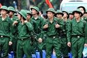 Bộ Quốc phòng thông tin về quy định tuyển chọn và gọi công dân nhập ngũ