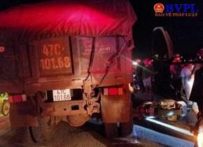 Nữ trung úy CSGT bị xe ben cán tử vong tại chỗ