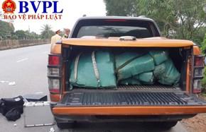 Vứt hàng trăm kg ma túy trên xe rồi chạy trốn vào rừng, một đối tượng người Lào bị bắt giữ