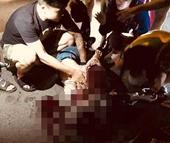 Nghi án cô gái trẻ bị bạn trai đâm gục giữa phố Hà Nội
