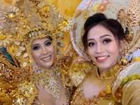 Á hậu Phương Nga tỏa sáng trên sân khấu Miss Grand International 2018