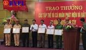 Khen thưởng các cá nhân, tập thể trong chiến công bắt giữ vụ ma túy khủng 310kg