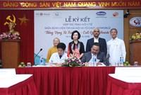 """Lễ ký kết hợp tác trao đổi y tế Chương trình """"Tiếng vọng từ trái tim"""""""