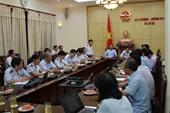 Công bố quyết định thanh tra tại Bộ Lao động -Thương binh và Xã hội