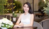 Thùy Tiên rạng rỡ trước ngày lên đường thi Miss International 2018