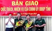 Đại tá Võ Văn Ngon giữ chức vụ Chính ủy BĐBP tỉnh Bến Tre